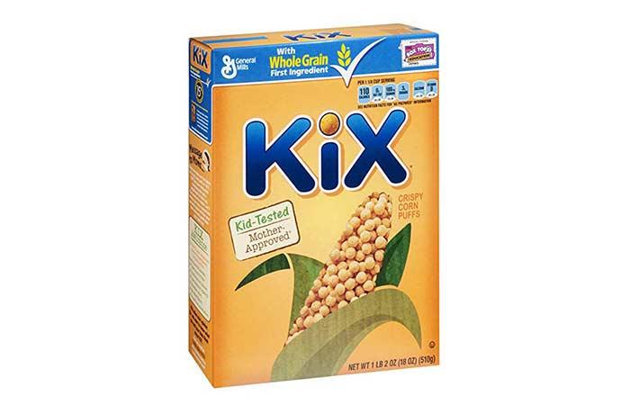 2.General Mills KiX