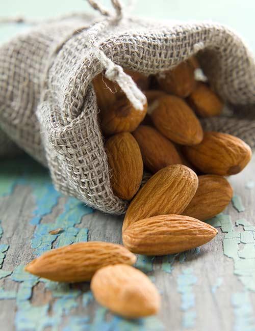 3. Almonds