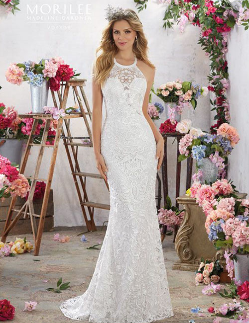 Halter Dress Ideas - Halter Neck Wedding Dress