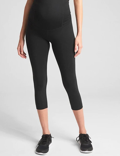 Yoga Pants For Women - Gap Crossover Panel Maternity Yoga Pants