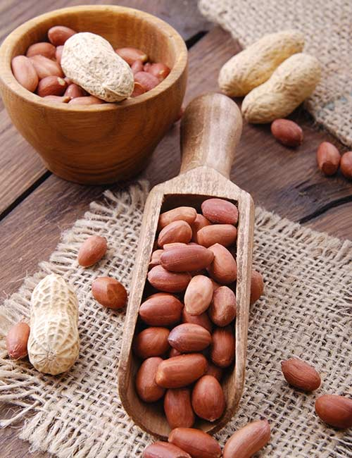 5. Peanuts