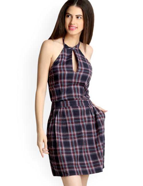 Halter Dress Ideas - Short Halter Dress
