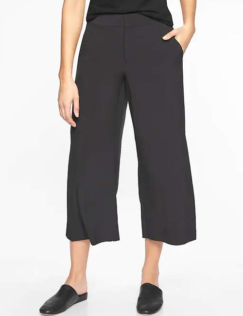 Yoga Pants For Women - Tribeca Crop Pants For Travel