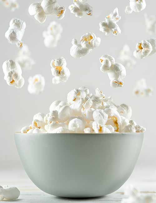 7. Air Popped Popcorn