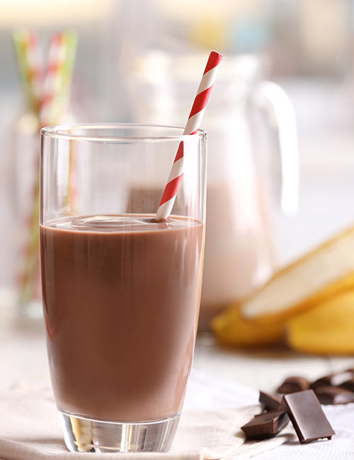 9. Chocolate Milk