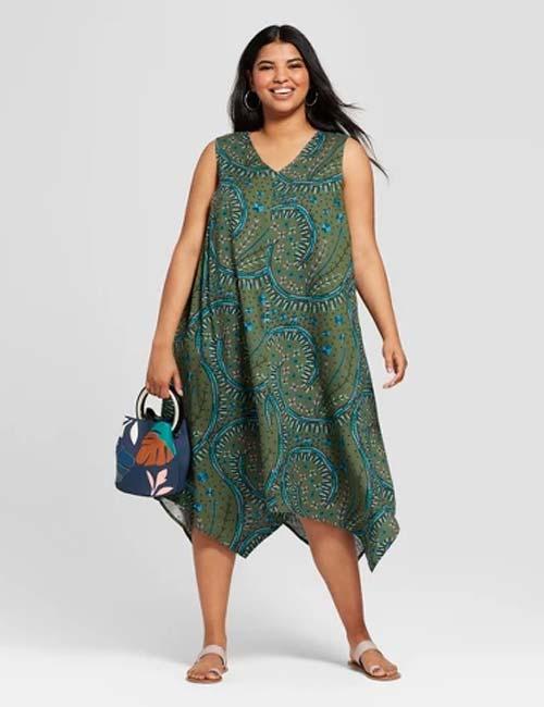 A-Line Asymmetrical Dress
