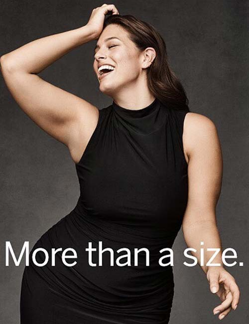 Ashley Graham is an icon and a role model for millions of people.