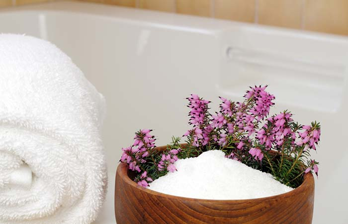 Epsom Salt Soak