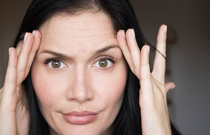 Forehead Muscle Tone Exercise