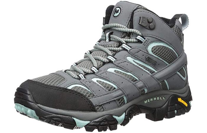 180f8601b795 Hiking Boots For Women - Merrell MOAB2 Gore-Tex Wide