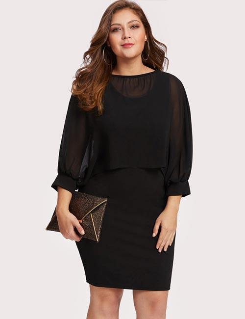 4ed61c2a9540 Semi-Formal Attire For Women - Plus Size Semi-Formal Dresses
