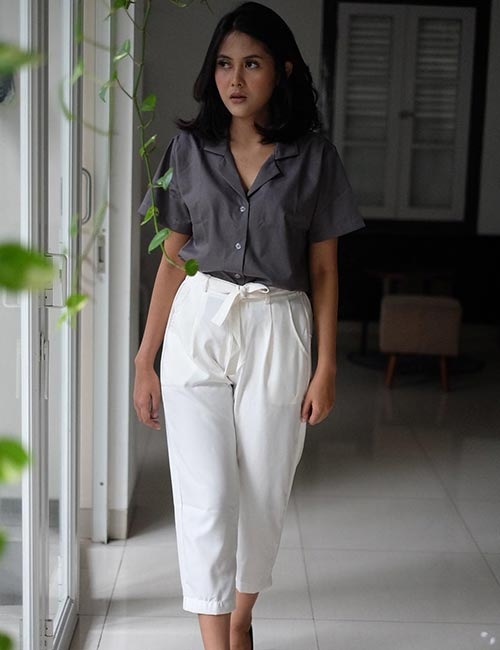Semi-Formal Attire – Pants And Blouse