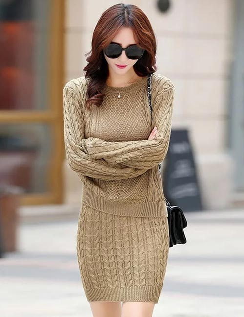 Semi-Formal Attire For Women - Semi-Formal Dress With Long Sleeves