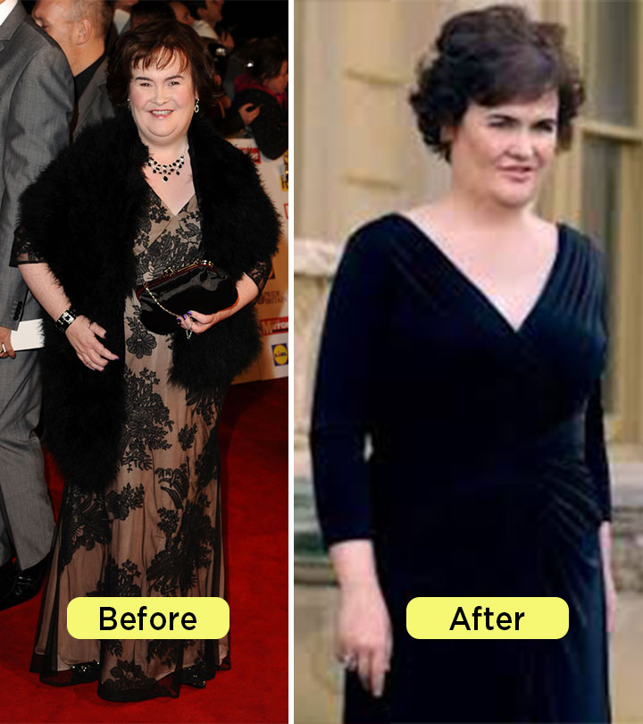 Susan Boyle Weight Loss - How Britain's Got Talent Singer Lost 50 pounds