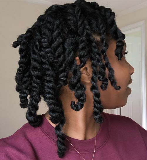 4A Hair- Twist-Out Hair