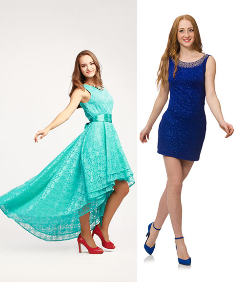 Crochet Lace Outfits - What Shoes To Wear With Bold Colored Lace Dresses