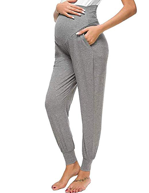 YoungMom Maternity High Waisted Lounge Pants
