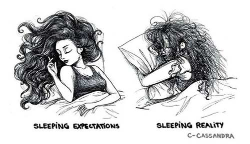 Your Hair Can Choke You In Your Sleep
