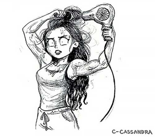 Your Hair Gives You The Best Workout
