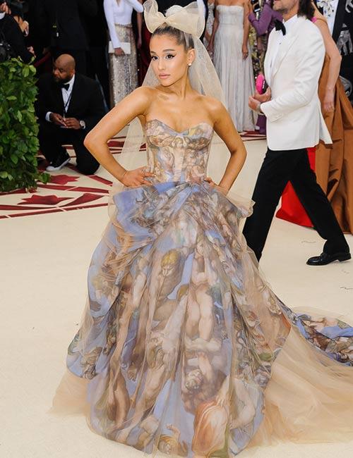 1. Ariana Grande Met Gala Outfit