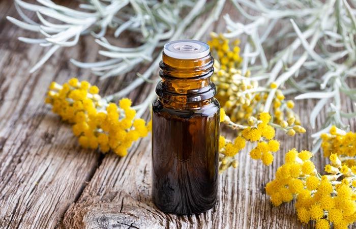 1. Helichrysum Oil