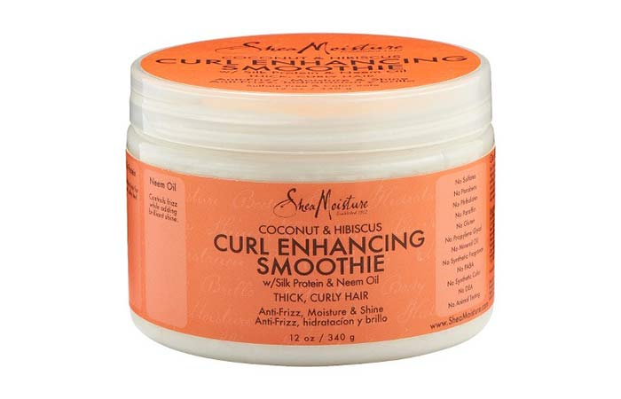 1. Shea Moisture Coconut & Hibiscus Curl Enhancing  Smoothie