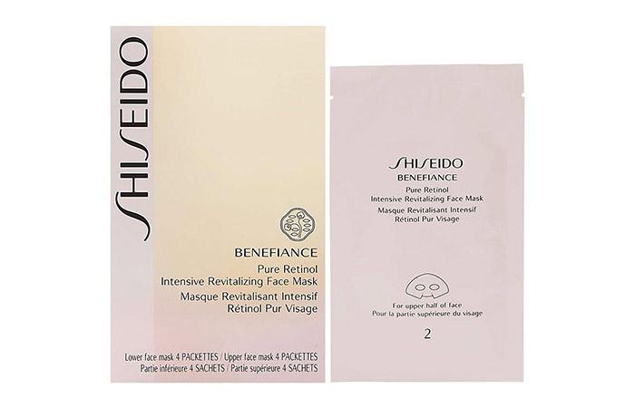 Shiseido Benefiance Saf Retinol Yoğun Canlandırıcı Yüz Maskesi