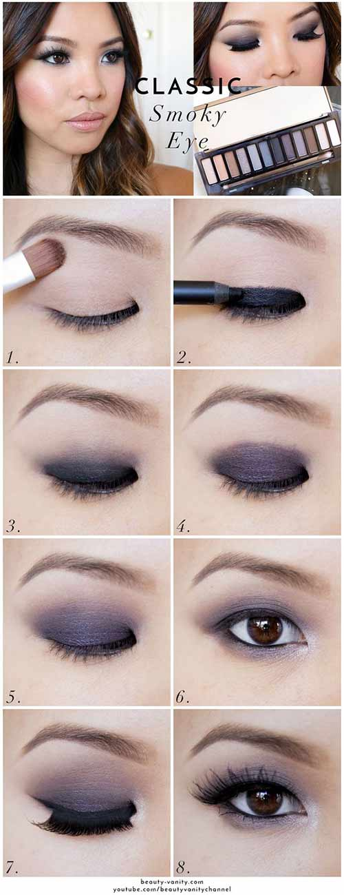 5 Marvelous Makeup Looks For Monolid Eyes
