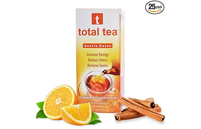 1. Total Tea Gentle Detox