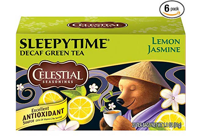 10. Celestial Seasonings Green Tea