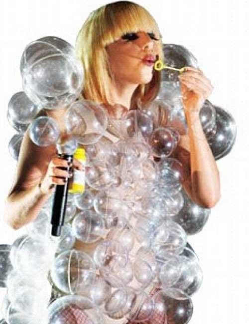 11. Lady Gaga Bubble Dress