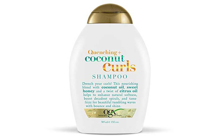 11. OGX Quenching+Coconut Curls Shampoo