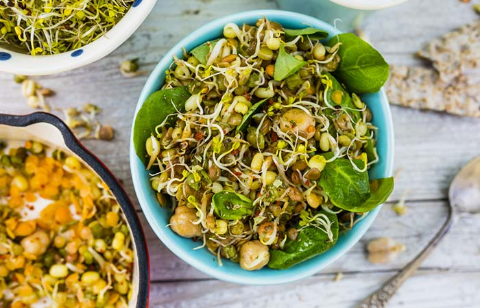 11.Sprout Salad