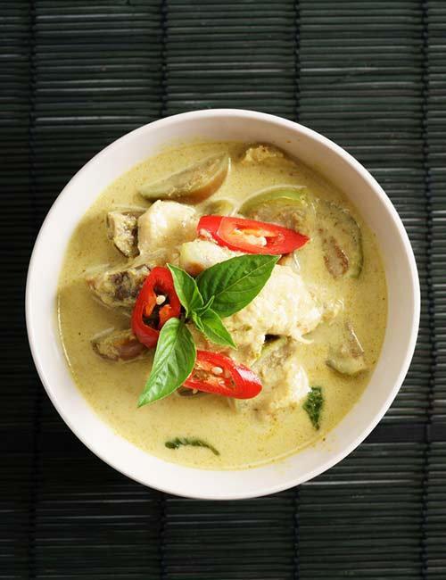 12. Coconut Curry Chicken Soup