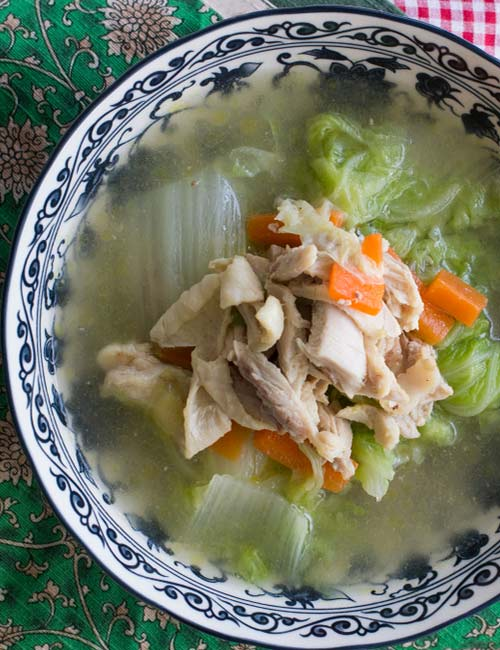 13. Cabbage Soup With Chicken