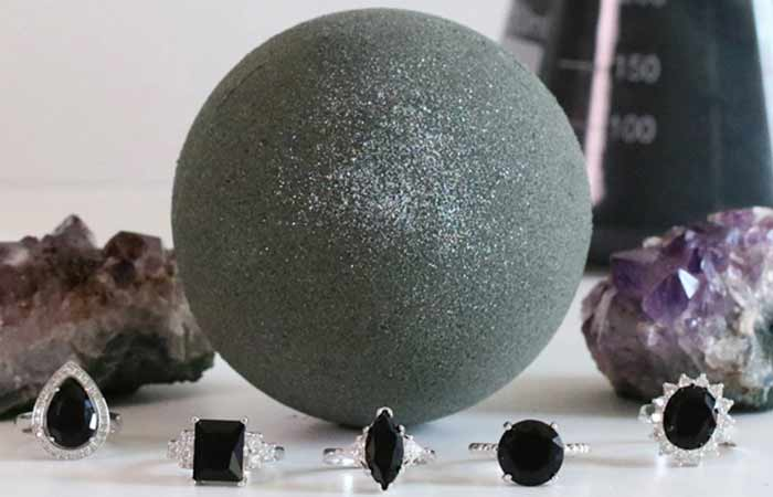 13. Dark Magic Charcoal Bath Bomb