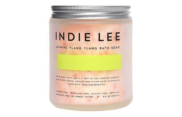 14. Indie Lee Jasmine Ylang Ylang Bath Soak