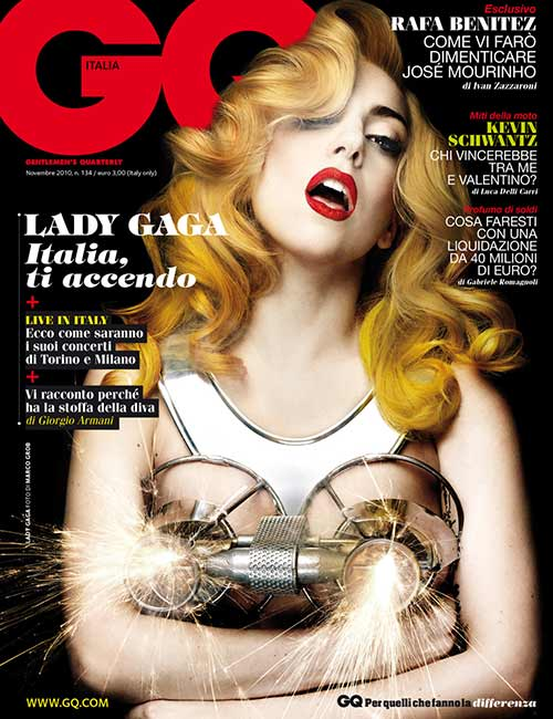 Lady Gaga's Time Magazine Cover - Lady Gaga Outfits
