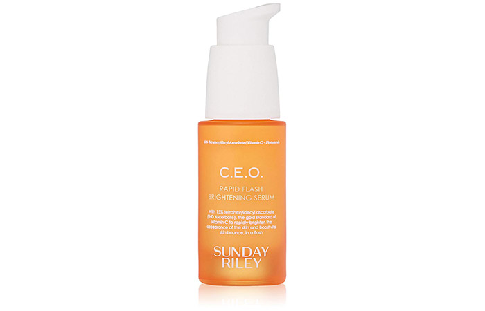 15. Sunday Riley C.E.O. Rapid Flash Brightening Serum