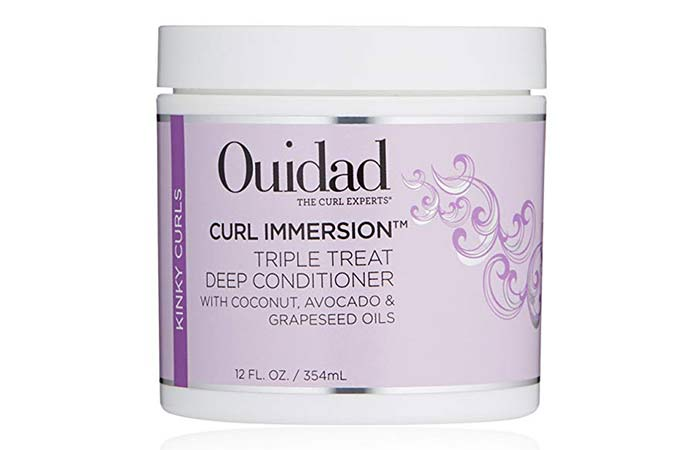 17. Ouidad Curl Immersion Triple Treat Deep Conditioner