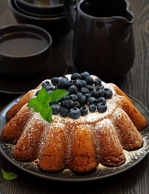 2.Keto Vanilla Pound Cake