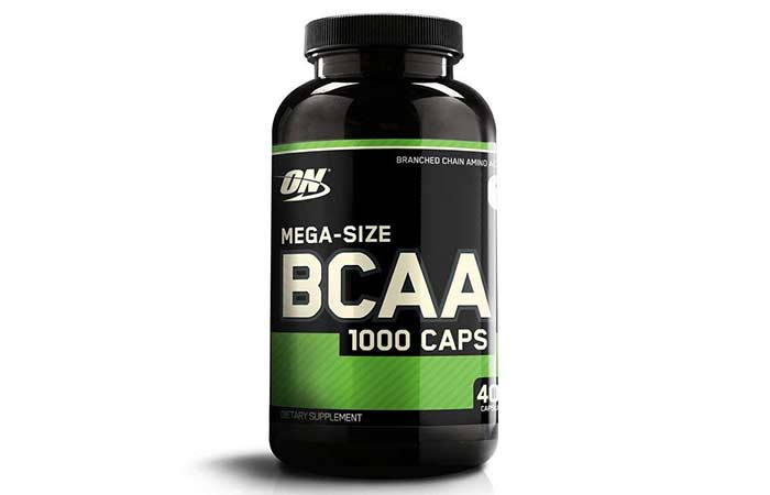 2.Optimum Nutrition Instantized BCAA Branched Chain Essential Amino Acids Capsules