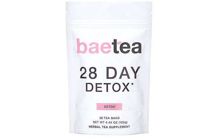 3. BaeTea 28 Day Teatox – Gentle Detox Tea