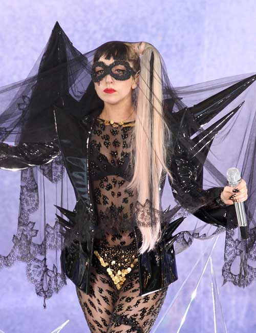 Lady Gaga For Good Morning America Concert - Lady Gaga Outfits