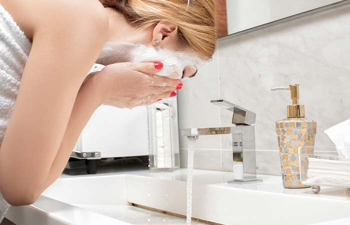 3. Use the right skin wash