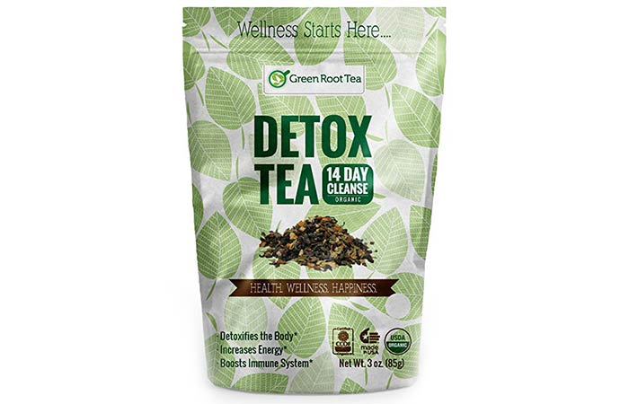 4. Green Root Tea – Detox Tea