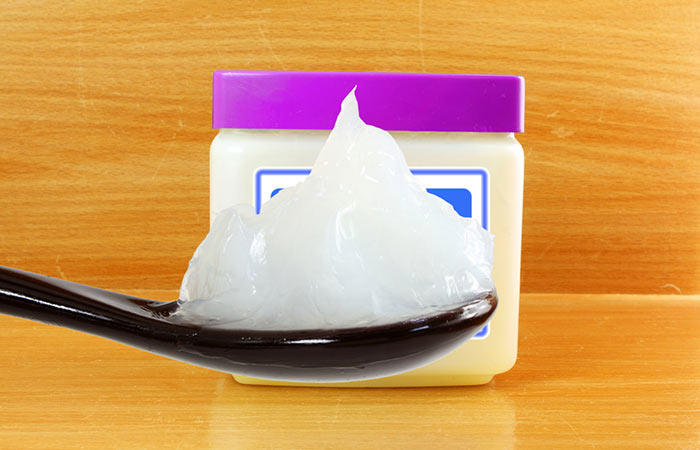 4. Petroleum Jelly (Vaseline)