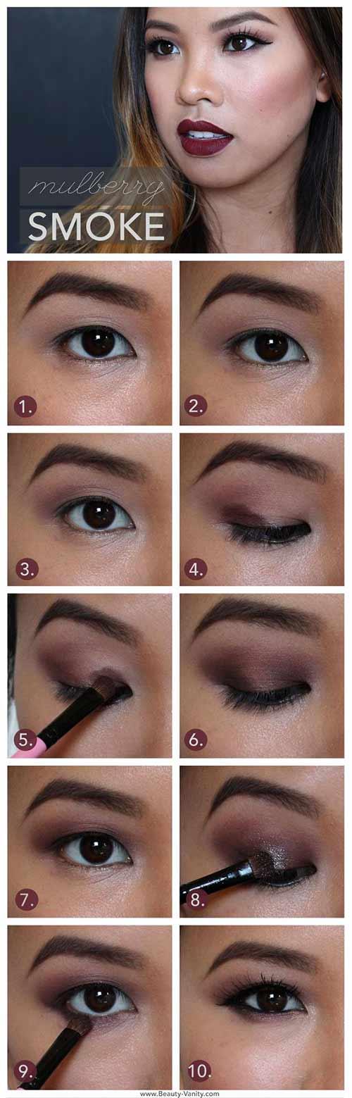 4. The Mulberry Smokey Eye