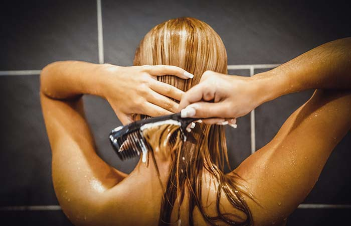5. Don't Apply Conditioner Near Your Scalp