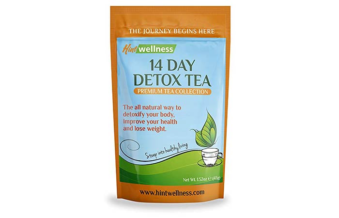 5. Hint Wellness – 14 Day Detox Tea